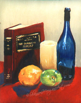 138 Book and Fruit