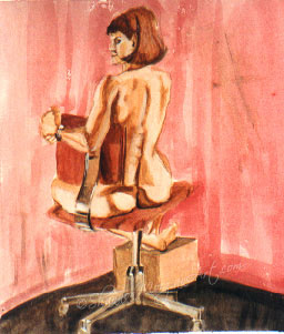 099 Woman in a Chair II