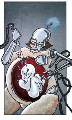 060 Technology Gone Wrong - Pregnant Robot