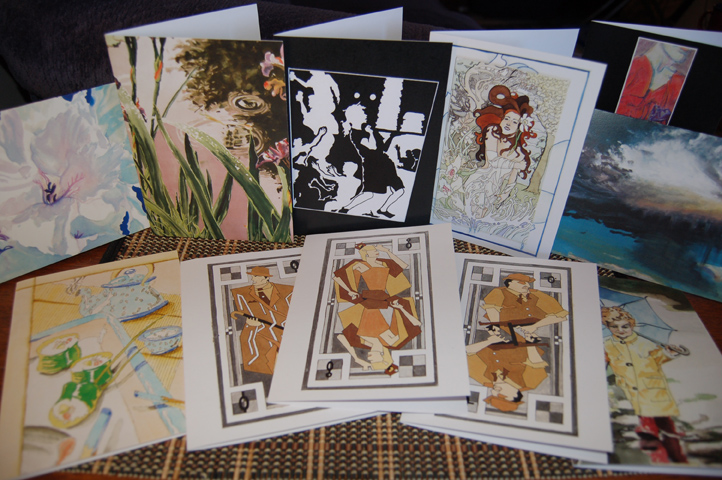 Art by Shannon Morgan - 5x7 art cards